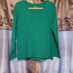 NWOT teal blouse
